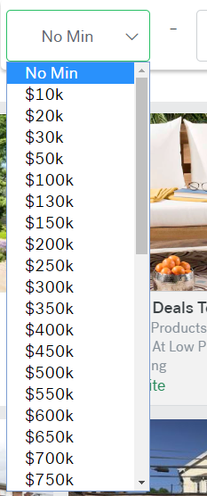 price brackets
