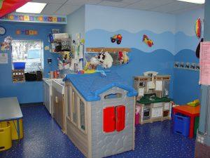 children's room full of toys